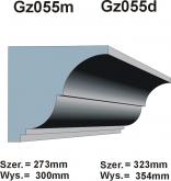 Gzymsy Gz 055m  i  Gz 055d