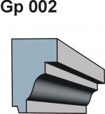 Gzymsy \ listwy podparapetowe Gp 002