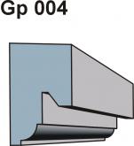 Gzymsy \ listwy podparapetowe Gp 004