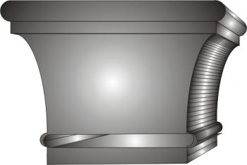 Glowica pilastra 1
