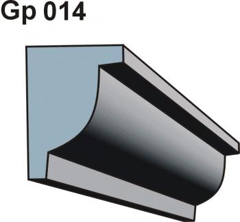 Gzymsy \ listwy podparapetowe Gp 014