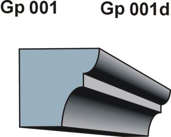 Gzymsy \ listwy podparapetowe Gp 001