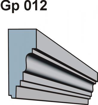 Gzymsy \ listwy podparapetowe Gp 012