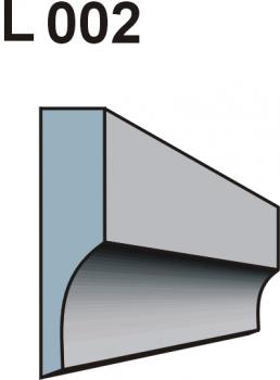 Listwa okienno podparapetowa L002