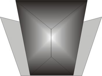 zwornik skrzydełkowy kopertowy 1
